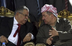 Талабани (слева) и Барзани