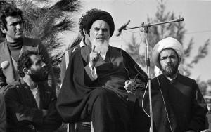Аятолла Хомейни во время исламской революции 1979 года