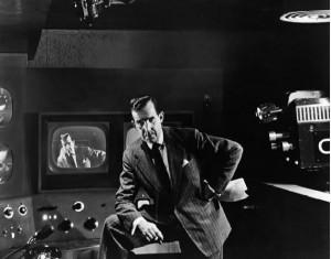 Эдвард Р. Мароу. Известный американский теле- и радио журналист