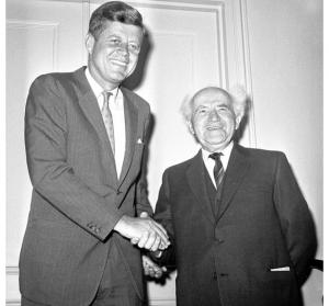 Джон Кеннеди и Давид Бен-Гурион